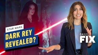 Dark Rey Revealed in New Star Wars Footage - IGN Daily  Fix