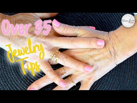 Dainty Jewelry & Jewelry Tips for over 35 Years Old - TOP 5 TIPS