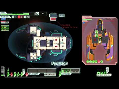 MantisB Starting ship vs. enemy with an upgraded medbay FTL: Faster Than Light