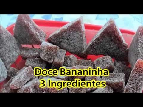 DOCE BANANINHA | 3 INGREDIENTES