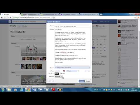 How to make an event invitation on Facebook