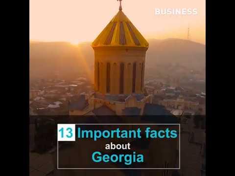 13 Facts About Georgia / BUSINESS GEORGIA