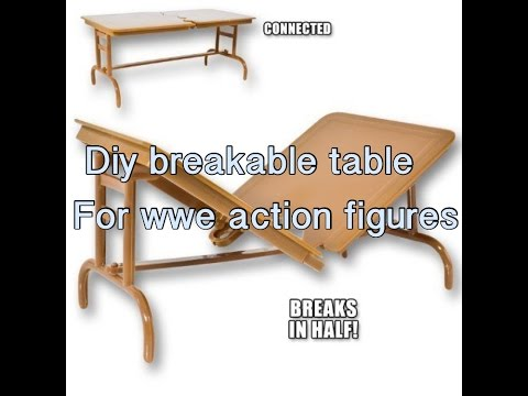 Maddies's wwe corner ep.4|DIY breakable table