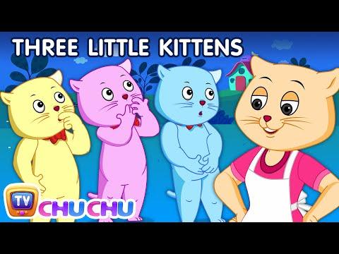 Three Little Kittens | Nursery Rhymes from ChuChu TV Kids Songs