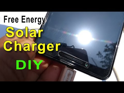 Free Energy Solar charger | How to make