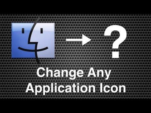 Changing An App, Folder or Hard Drive Icon - Mac OS X