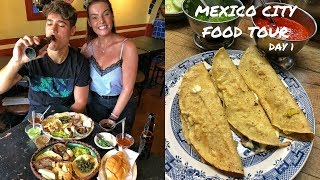 DEVOUR POWER Mexico City: Epic FOOD TOUR in Coyoacán with a local foodie!