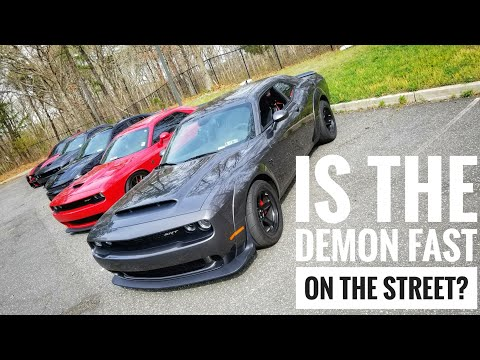 Is the Dodge Demon Any Faster Than A Hellcat?