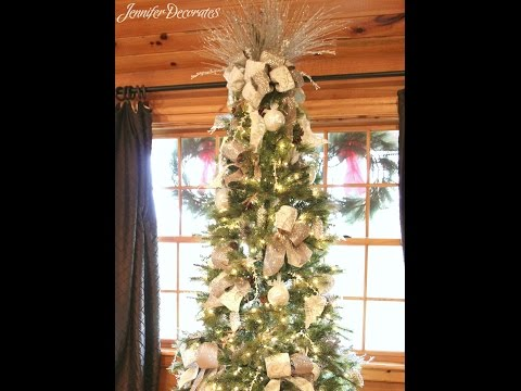 Country Christmas Decorating Ideas - Easy and Inexpensive ideas!