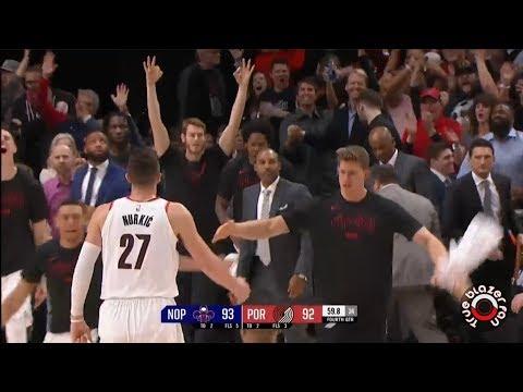Portland Trail Blazers vs New Orleans Pelicans - Playoffs Game 1 - April 14, 2018