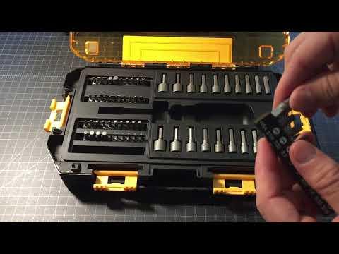 DeWalt 70-piece socket driver, torx, Allen and screw driver set review (1/4