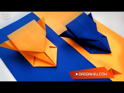 Paper machine. Paper model of a racing car.