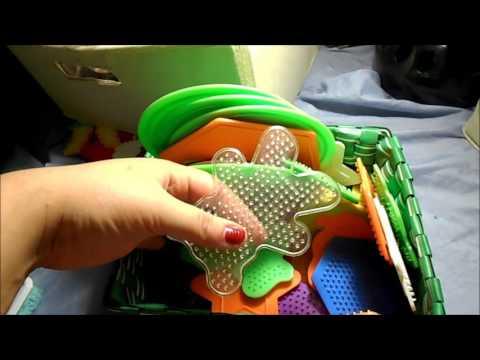 How I store my perler beads