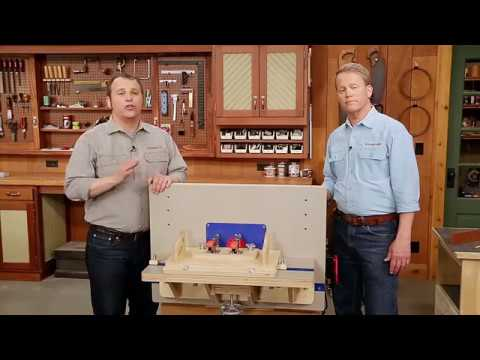 How-To: Using the Combination Router Table