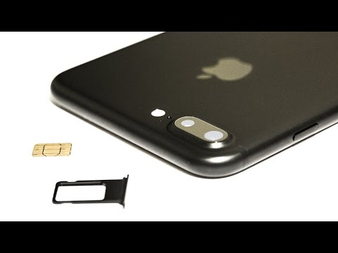 iPhone 7 / 8 PLUS HOW TO: Insert / Remove a SIM Card