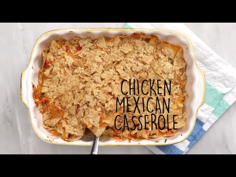 How to Make Mexican Chicken Casserole | Trending Tastes | MyRecipes