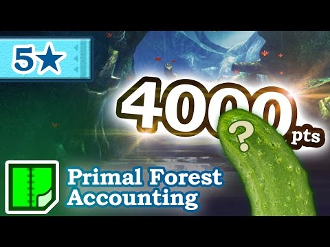 Let's Play Monster Hunter Generations - #132 - 5★ Primal Forest Accounting