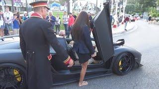 Lambo picking up girls in Monte Carlo