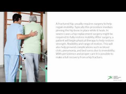 Hip Fracture - Causes and Symptoms