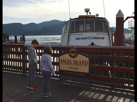 Angel Island, San Francisco - with kids