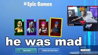 I Tried Merging Fortnite Accounts with Popular Streamers