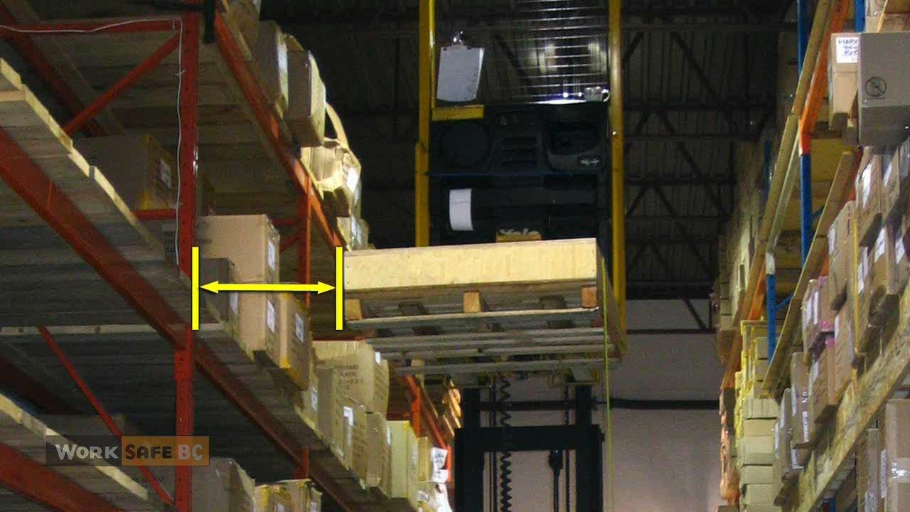 Young Worker Falls from Forklift