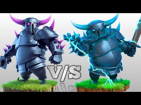 Pekka V/S Super Pekka | Super Pekka Ability | Clash Of Clans | Awesome Experiment.