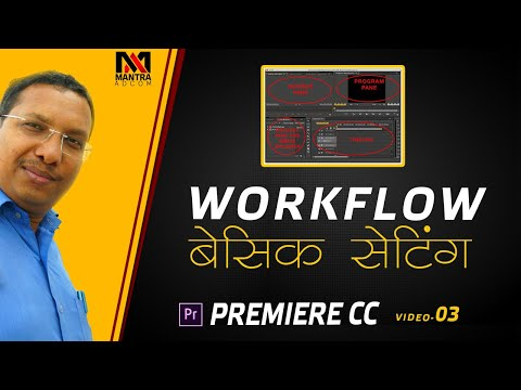 Premiere Pro CC | Video Editing Training Course | Basic Workflow