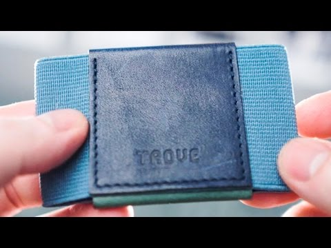 Trove wallet review | Compact minimalist 3 compartment slim wallet