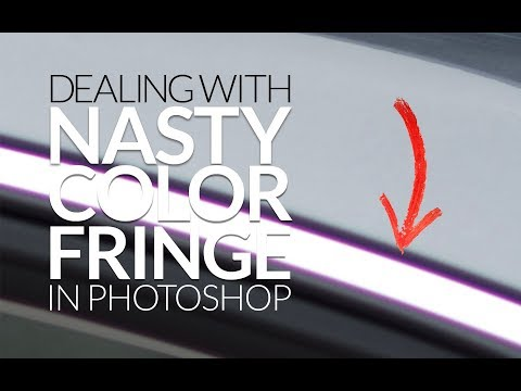 Getting Rid of Nasty Purple or Green Color Fringe in Photoshop