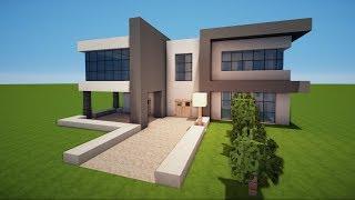 Modernes Haus Bauen Videos Ytubetv - Minecraft cooles haus bauen anleitung