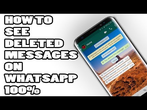 How To Read Deleted Messages On Whatsapp(100%) WORKS!