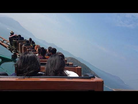 Hong Kong, Ocean Park-Wild West Mine Train Roller Coaster POV!