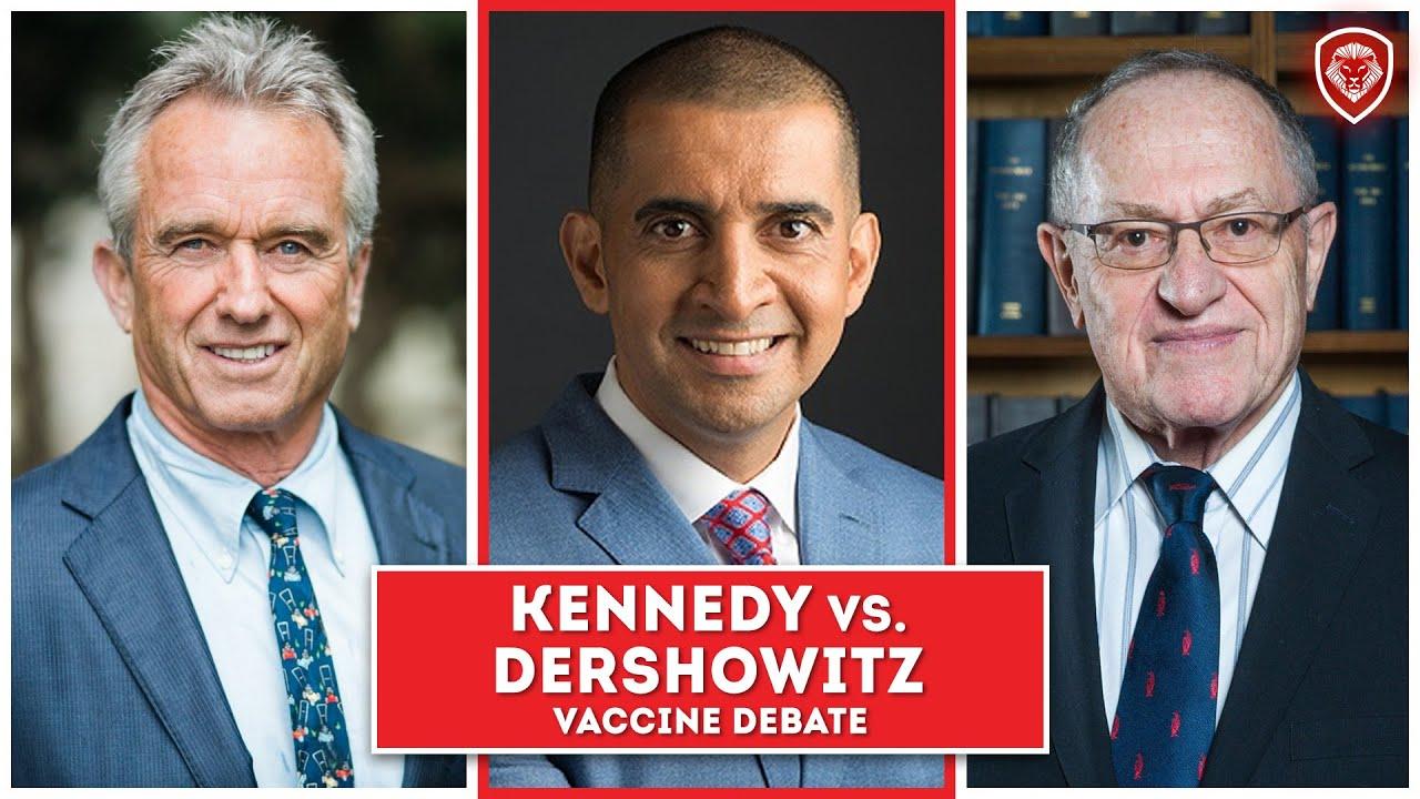 Heated Vaccine Debate - Kennedy Jr. vs Dershowitz