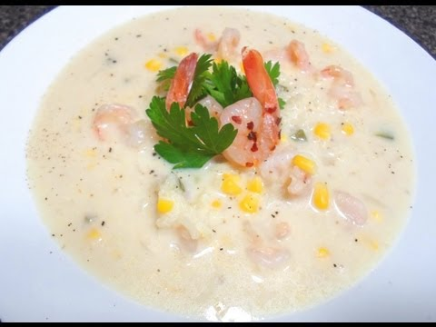 How to make Shrimp Soup - Easy Cooking!