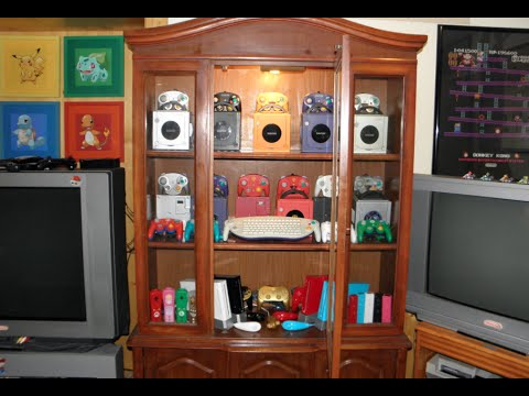 Gamecube and Wii Display Case