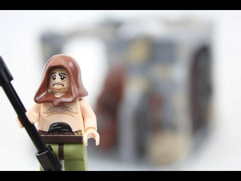 LEGO Star Wars Rancor Pit Review 75005