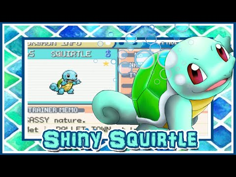 [WSHC #4] LIVE!! Shiny Squirtle on Pokemon Leafgreen after 1350 SRs!