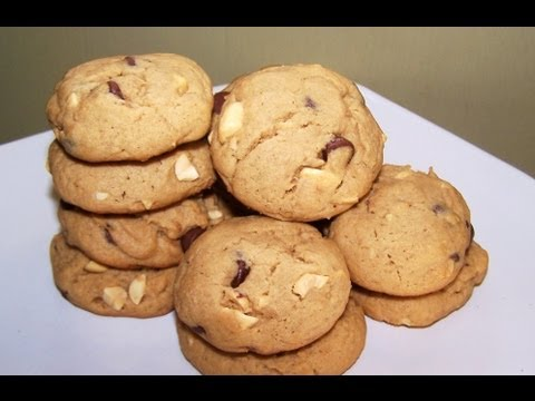 Banana Peanut Butter Chip Cookie Recipe