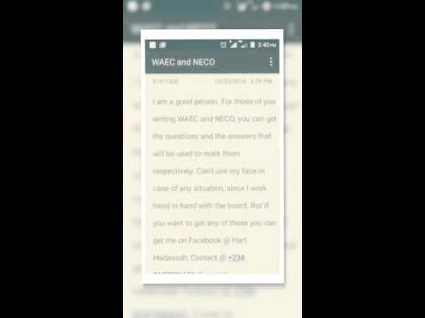 WAEC and NECO