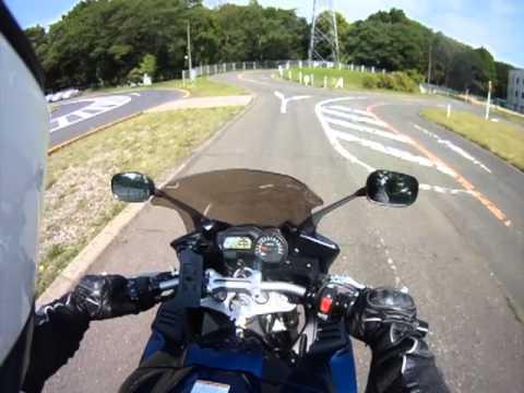 Unlimited Bike Licensing test in Fuchu, Japan / 府中運転免許試験所 大型二輪コース