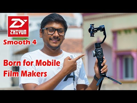 Zhiyun Smooth 4 Unboxing & Overview | Made for Mobile Filmmakers!