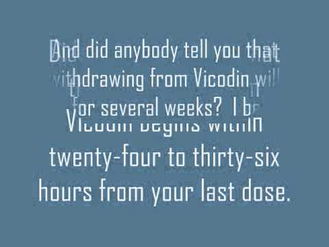 Vicodin Withdrawal Causes Sleep Deprivation