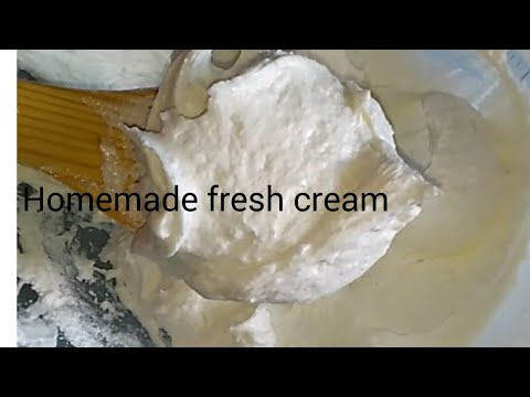 Turn milk into whipped cream at home