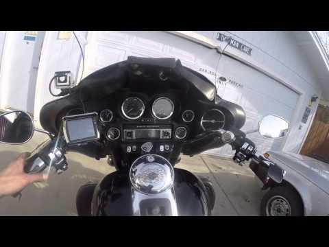 Harley built in garage door remote