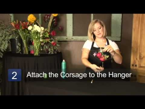 How to Dry Out a Corsage
