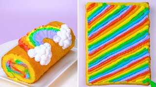 So Tasty Cakes and Dessert Recipes | Amazing Rainbow Cake Decorating Ideas | Perfect Chocolate Cake