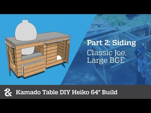 Kamado Table DIY Heiko 64
