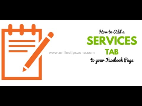 How to add Services Section to Facebook Page | Services Tab in Fb Page