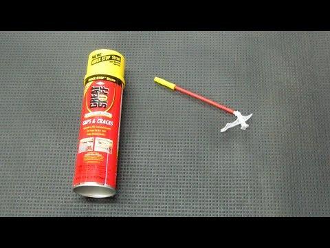Reusing Spray Foam Cans No. 2 - Tips & Tricks